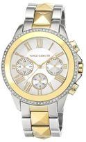 Vince Camuto Ladies' Two-Tone & Swarovski Crystal Pyramid Bracelet Watch