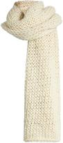 I LOVE MR MITTENS Long wool scarf