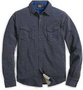 Ralph Lauren Indigo Jacquard Western Shirt