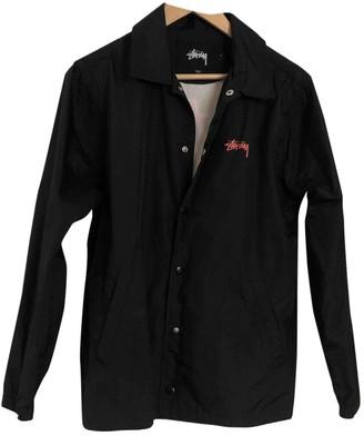Stussy Black Polyester Jackets