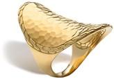 John Hardy Palu 18K Gold Oval Saddle Ring