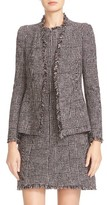 Rebecca Taylor Women's Houndstooth Open Front Jacket