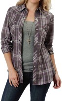 Roper Royal Plaid Shirt - Snap Front, Long Sleeve (For Women)