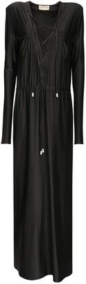 Alexandre Vauthier Canvas Safari Midi Dress W/Belt