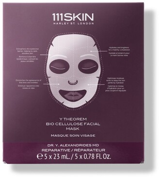 111SKIN Y Theorem Bio Cellulose Facial Masks (Pack of 5)