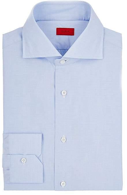 Isaia Men's Cotton Poplin Shirt