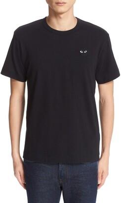 Comme des Garcons Logo Slim Fit Graphic T-Shirt
