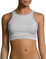 Calvin Klein Performance Quick-Dry Mesh Insert Sports Bralette