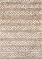 Momeni Rugs MAYA0MAY-3BGE2030 Maya Collection Ultra Thick Pile Shag Area Rug, 2' x 3', Beige