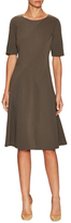 Lafayette 148 New York Curve Seam Fit And Flare Dress