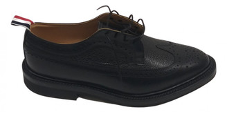 Thom Browne Black Leather Lace ups