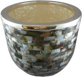 One Kings Lane Mother-of-Pearl & SS Champagne Bucket