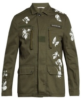 Valentino Mariposa Cotton Jacket
