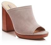Frye Karissa High Heel Platform Slide Sandals