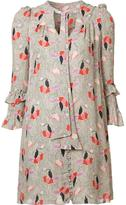 Derek Lam 10 Crosby abstract print dress - women - Silk - 0