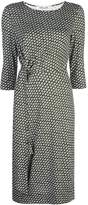 Diane von Furstenberg patterned midi dress