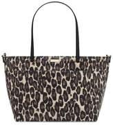 Kate Spade Charles Street Leopard Francis Baby Bag in Deco Beige