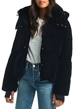 SAM. Sydney Velvet Short Down Coat