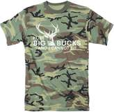 Crazy Dog T-shirts Crazy Dog Tshirts Mens I Like Big Bucks and I Cannot Lie Funny Deer Hunting T shirt (uflage)