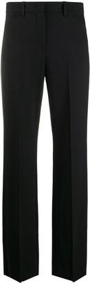 Emporio Armani High-Waisted Straight-Leg Trousers