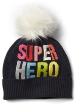 Gap Hero pom-pom hat