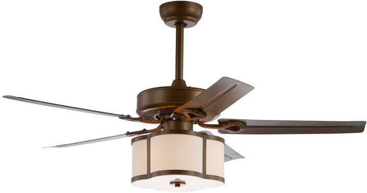 Thumbnail for your product : Jonathan Y Designs Edith 52In 3-Light Metal/Wood Led Ceiling Fan With Remote