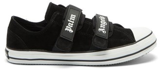 Palm Angels Suede Trainers - Black