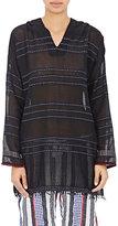 Lemlem Women's Gauze Hooded Tunic-BLACK