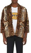 Visvim Men's Sanjuro Kimono Fur Jacket