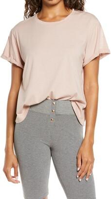 Distressed Pima Cotton T-Shirt