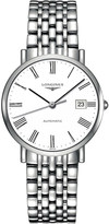 Longines L4.810.4.11.6 Elegant stainless steel watch