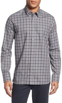 Ted Baker Men's 'Waggo' Check Trim Fit Sport Shirt