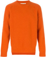 Marni ribbed crew neck sweater