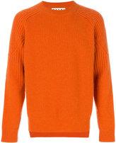 Marni ribbed crew neck sweater