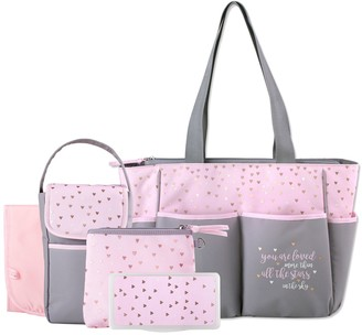 Baby Essentials 5-in-1 Diaper Tote