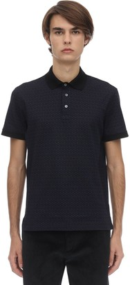Salvatore Ferragamo GANCINI COTTON POLO SHIRT