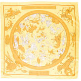 Hermes Hemisphaerium Coeli Boreale Silk Scarf