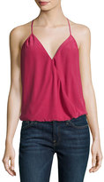 Joie Abriella Surplice Camisole Top, Red