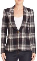 Smythe Plaid Hunting Blazer