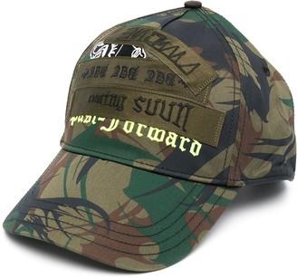 Diesel Camouflage-Pattern Cap