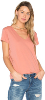 Vince Jersey Tee in Pink