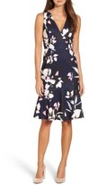 Vince Camuto Women's Stretch Fit & Flare Dress