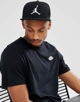 Jordan Nike Jumpman Snapback Cap In Black 861452-013