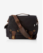 Express robert mason leather canvas classic case