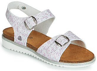 Citrouille et Compagnie JANETTA girls's Sandals in White