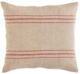 "Napa Home and Garden Brasserie Ticking Pillow - 18"" x 18\"""
