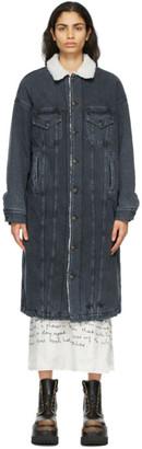 R 13 Black Denim Lyle Jacket