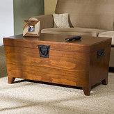 Oak Trunk Coffee Table