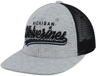 Top of the World Unbranded Youth Gray Michigan Wolverines Cutter Adjustable Hat