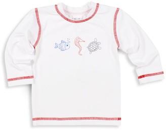 Florence Eiseman Baby's & Little Boy's Sea Creatures Rashguard